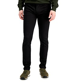 Men's Black Denim Skinny Jeans