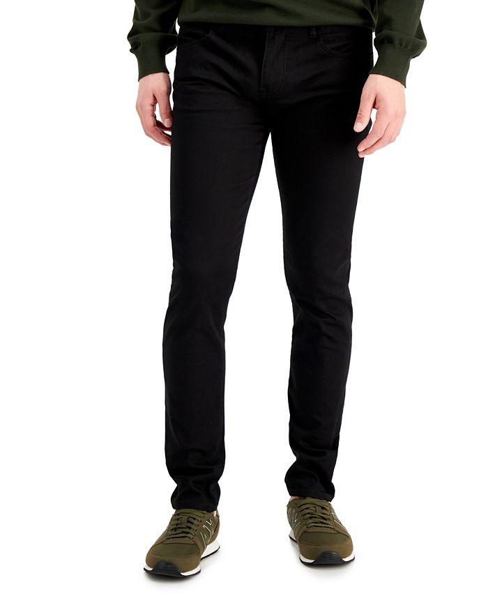 A|X Armani Exchange - Men's Black Denim Skinny Jeans