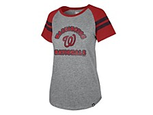 Washington Nationals Women's Fly Out Raglan T-shirt
