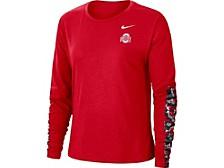 Ohio State Buckeyes Women's Breathe Long Sleeve T-Shirt