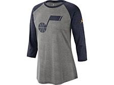 Utah Jazz Women's Three Quarter Statement Raglan Shirt