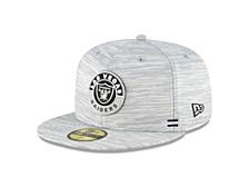 Las Vegas Raiders On-Field Sideline 59FIFTY Cap