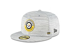 Pittsburgh Steelers On-Field Sideline 59FIFTY Cap