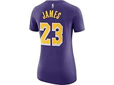 Women's Los Angeles Lakers Player T-Shirt - LeBron James