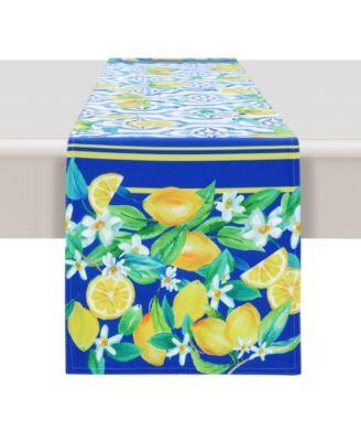 Lovely Lemons 13x72 Table Runner