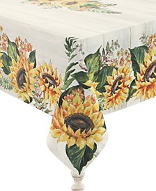 Sunflower Day 70x84 Tablecloth