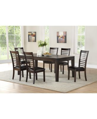 Ally Dining 7-Pc Set ( Table + 6 Side Chairs)