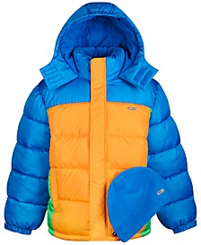 Big Boys Quilted Puffer Jacket