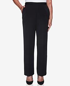 Petite Catwalk Twill Proportioned Short Pants
