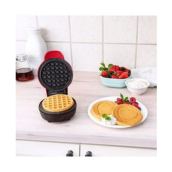 Bella Heart Red Mini Waffle Maker