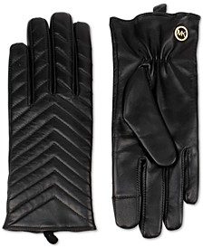 Quilted Leather Gloves