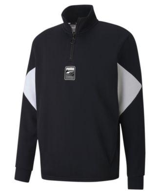 Men's Rebel Quarter-Zip Fleece Sweatshirt
