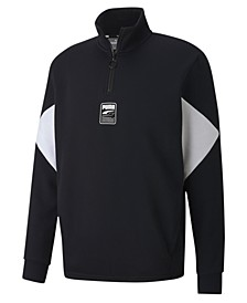 Men's Rebel Quarter-Zip Fleece Sweatshirt