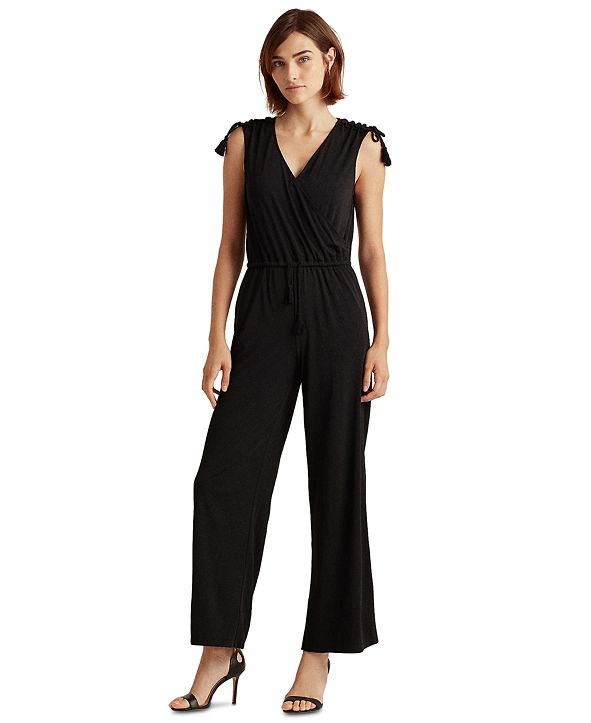 Lauren Ralph Lauren Sleeveless Jumpsuit