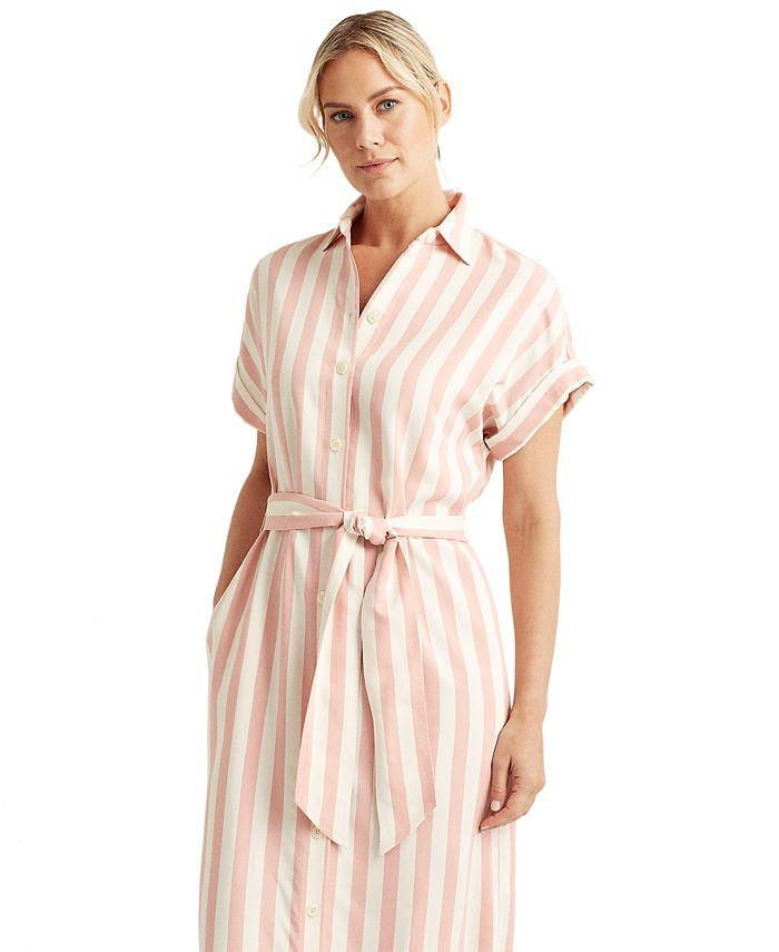 Lauren Ralph Lauren - Striped Shirtdress