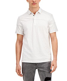 INC Men's Regular-Fit Pieced Polo Shirt, Created for Macy's