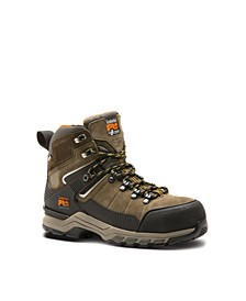 "Men's 6"" Safety Toe Water-resistant Hypercharge Work Hiker Boot"