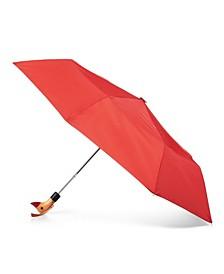 Wooden Duck Handle Auto Open Umbrella