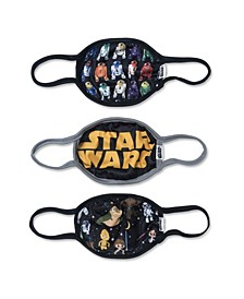 Star Wars Kids Face Covers, Pack of 3