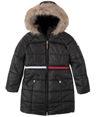 Big Girls Long Puffer Jacket