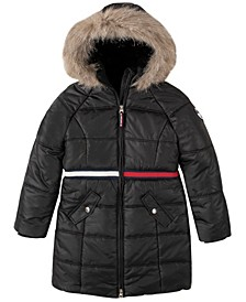 Big Girls Long Puffer Jacket