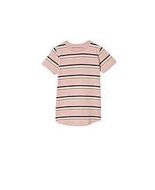 Little Boys the Cruz Short Sleeve Long Line T-Shirt
