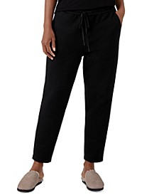 Organic Pull-On Ankle Pants