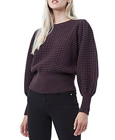 Mozart Textured Cotton Sweater