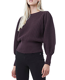 French Connection Mozart Textured Cotton Sweater