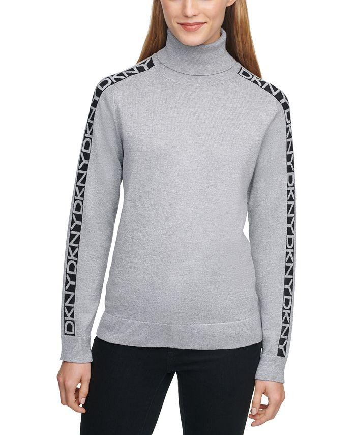 DKNY - Turtleneck Logo Sweater