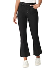 Ava Straight Leg Cropped Jeans