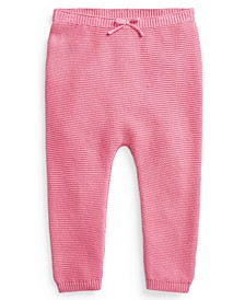 Ralph Lauren Baby Boys or Girls Cotton Sweater Pull-On Pant