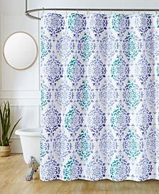 """Sutton Park Suffolk Printed 70"""" x 72"""" Shower Curtain, 13 Piece"""