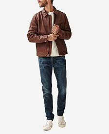 Men's Aviator Leather Jacket