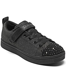Little Girls Twinkle Toes Sparkle Rayz - Sparkle Scholars Casual Sneakers from Finish Line