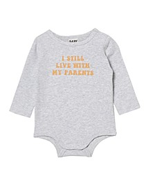 Baby Boys and Girls The Long Sleeve Bubbysuit