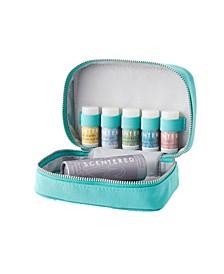 Daily Ritual Collection Aromatherapy Balm, Set of 5, 1.5 gram each