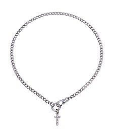 Cross Pendant Choker Necklace