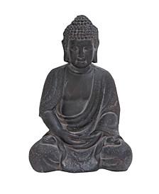 Large Clay Buddha Statue Table Decor