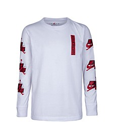 Big Boys Jumpman Classics Logo Long Sleeve T-shirt
