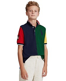 Big Boys Big Pony Mesh Polo Shirt