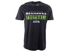 Seattle Seahawks Men's Backdraft Super Rival T-Shirt