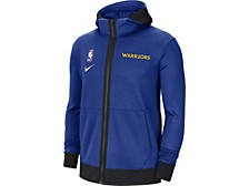 Golden State Warriors Men's Thermaflex Showtime Full Zip Hoodie