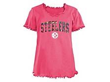 Pittsburgh Steelers Big Girls Flip Sequin T-Shirt