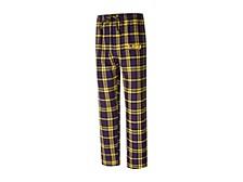 LSU Tigers Men's Parkway Plaid Pajama Pants