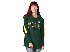 Green Bay Packers Women's Double Team Tunic Hoodie