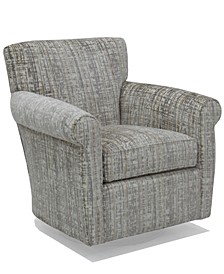 "Zaniel 35"" Fabric Accent Swivel Chair"