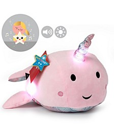 Toy Plush LED with Sound Narwhal 17inch