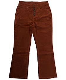 Plus Size Button Down Corduroy Pants, Created for Macy's