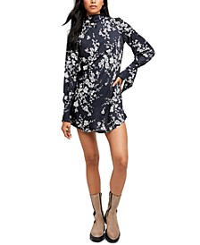 Aries Printed Cutout Mini Dress